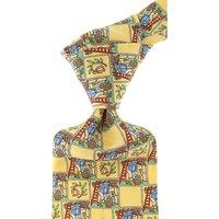 Raffaello Ties On Sale, Yellow, Silk, 2019