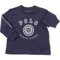 Ralph Lauren Baby T-Shirt for Boys, navy, Cotton, 2019, 12M 18M 2Y 3M 6M 9M
