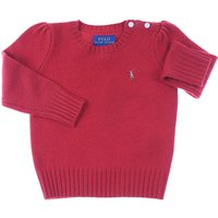 Ralph Lauren Kids Sweaters for Girls On Sale in Outlet, Red, Wool, 2019, 2Y 5Y 6Y