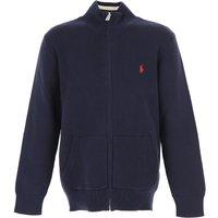Ralph Lauren Kids Sweatshirts & Hoodies for Boys On Sale in Outlet, Blue, Cotton, 2019, 2Y 3Y 5Y 6Y