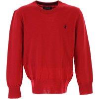 Ralph Lauren Kids Sweaters for Boys On Sale, Red, Wool, 2019, 5Y 6Y 7Y
