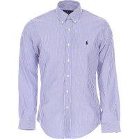 Ralph Lauren Shirt for Men On Sale, Bluette, Cotton, 2019, S * IT 46 M * IT 48 XXL * IT 54 L * IT 50