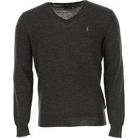 Ralph Lauren Sweater for Men Jumper, Granite, Wool, 2019, L M S XL XXL