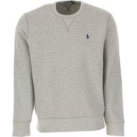 Ralph Lauren Sweatshirt for Men, Grey, Cotton, 2019, M S XL XS XXL