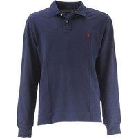 Ralph Lauren Polo Shirt for Men On Sale, Newport Navy, Cotton, 2017, L S XL