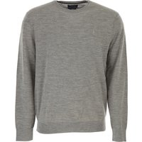 Ralph Lauren Sweater for Men Jumper On Sale, Grey Melange, Wool, 2017, XL XXL