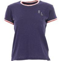 Ralph Lauren T-Shirt for Women On Sale, navy, Cotton, 2019, 6