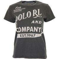 Ralph Lauren T-Shirt for Women On Sale, antracite, Cotton, 2019