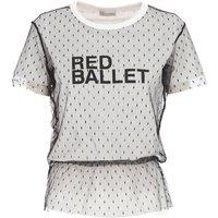 RED Valentino Camiseta de Mujer Baratos en Rebajas, Blanco, Algodon, 2019, 38 40 M