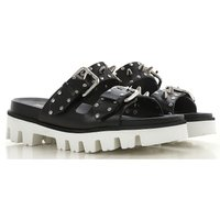 RED Valentino Sandals for Women, Black, Leather, 2019, 3.5 4.5 5.5 6 6.5 7.5