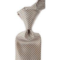 Stefano Ricci Ties On Sale, Taupe, Silk, 2019