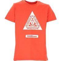 John Richmond Kids T-Shirt for Boys On Sale, Red, Cotton, 2019, 10Y 12Y 14Y 16Y 8Y