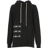 Rick Owens DRKSHDW Sweatshirt for Men On Sale in Outlet, Black, Cotton, 2019, L M