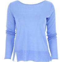 Roberto Collina Sweater for Women Jumper On Sale, pervinca, Merinos Wool, 2019, 12 8