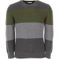 Paolo Pecora Sweater for Men Jumper, Grey, fleece wool, 2019, L S