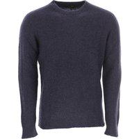 Roberto Collina Sweater for Men Jumper, Navy Blue, Cashemere, 2019, L M
