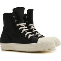 Rick Owens Sneakers for Men On Sale in Outlet, Black, Leather, 2019, 6.5 7.5 8.5 9.25