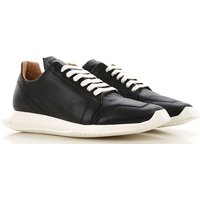 Rick Owens Sneakers for Men On Sale in Outlet, Black, Leather, 2019, 5.5 6.5 6.75 7 7.5 8 8.5