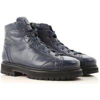 Santoni Boots for Men, Booties On Sale, Dark Blue, Leather, 2019, 10 10.5 5 6 6.5 7.5