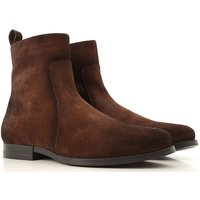 Santoni Boots for Men, Booties On Sale, Light Brown, Suede leather, 2019, 10 11 6.5 8