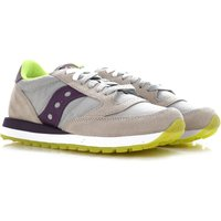 Saucony Sneakers for Women On Sale, Grey, suede, 2019, 6