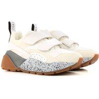 Stella McCartney Sneakers for Women, White, polyester, 2019, 6.5 7.5