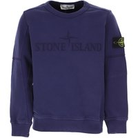 Stone Island Kids Sweatshirts & Hoodies for Boys On Sale in Outlet, Blue, Cotton, 2019, 5Y 8Y