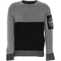 Stone Island Kids Sweaters for Boys On Sale, Black, Cotton, 2019, 10Y 12Y 14Y 6Y 8Y
