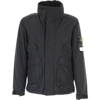 Stone Island Jacket for Men, Charcoal Grey, polyester, 2019, L M XL