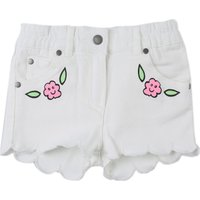 Stella McCartney Baby Shorts for Girls, White, Cotton, 2019, 12M 9M