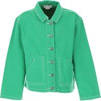 Stella McCartney Kids Jacket for Girls On Sale, Green, Cotton, 2019, 10Y 12Y 14Y 6Y 8Y