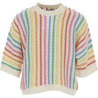 Stella McCartney Kids Sweaters for Girls, White, Sustainable Cotton, 2019, 10Y 12Y 14Y 2Y 4Y 6Y