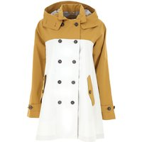 Save the Duck Women's Coat On Sale, White, polyester, 2019, 6