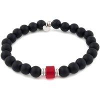 Tateossian Bracelet for Men On Sale in Outlet, Black, Black Agata, 2021