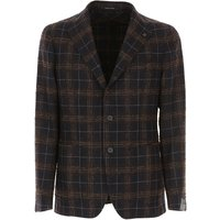 Tagliatore Jacket for Men, Blue, Virgin wool, 2019, L XXL