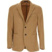 The Gigi Mens Clothing, Camel, Wool, 2019, L M S