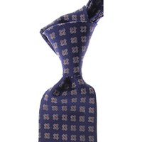Gianni Versace Corbatas Baratos en Rebajas, Tinta Azul, Seda, 2019