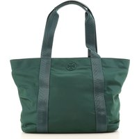 Tory Burch Tote Bag On Sale in Outlet, Dark Green, polyester, 2019