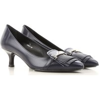 Tods Pumps & High Heels for Women On Sale in Outlet, Blue-Black, Leather, 2019, 3