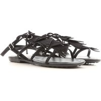 grossiste d0bdd 4a146 Tods Sandals for Women On Sale, Black, Suede leather, 2019 ...