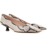 Tods Pumps & High Heels for Women On Sale, White, Printed Leather, 2019, 2.5 3.5 5.5 6.5