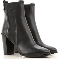 Tods Boots for Women, Booties, Black, Leather, 2019, 2.5 3.5 4 4.5 5.5 6 7 7.5