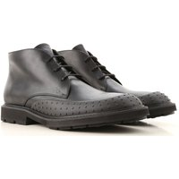 Tods Desert Boots Chukka for Men On Sale in Outlet, Black, Leather, 2019, 10 6 7.5 8 8.5