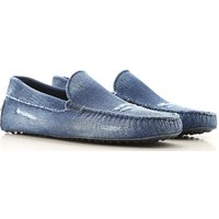 Tods Loafers for Men, Blue Denim, Leather, 2019, 10 11 5 6 6.5 7 7.5 8 8.5 9 9.5