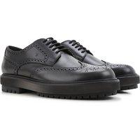 Tods Zapatos Calados Brogue Baratos en Rebajas Outlet, Negro, Piel, 2019, 41 43