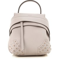 Tods Backpack for Women On Sale in Outlet, Mastic, Leather, 2019