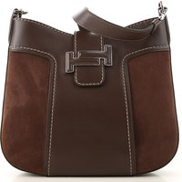 Tods Shoulder Bag for Women, Chocolate Brown, Leather, 2019
