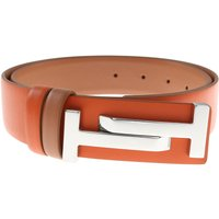 Tods Womens Belts On Sale, Brick Orange, Leather, 2019, 32 inches - 80 cm 34 inches - 85 cm 30 inche