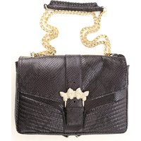 Twin Set by Simona Barbieri Shoulder Bag for Women, Black, Leather, 2021