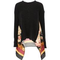 Twin Set by Simona Barbieri Sweater for Women Jumper, Black, polyamide, 2019, 10 8